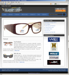 Screenshot of Industrial Optical, Inc. landing page